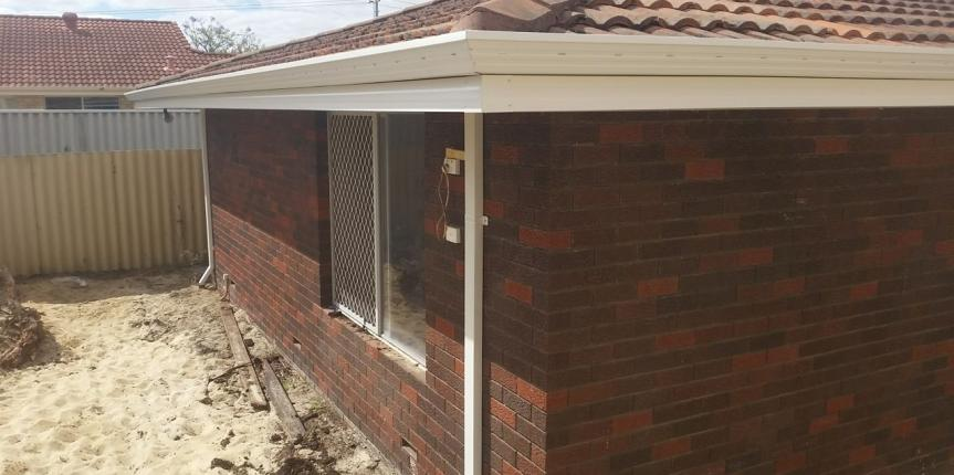Major Renovation With Fascia Absolute Gutters