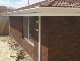 Major renovation with fascia